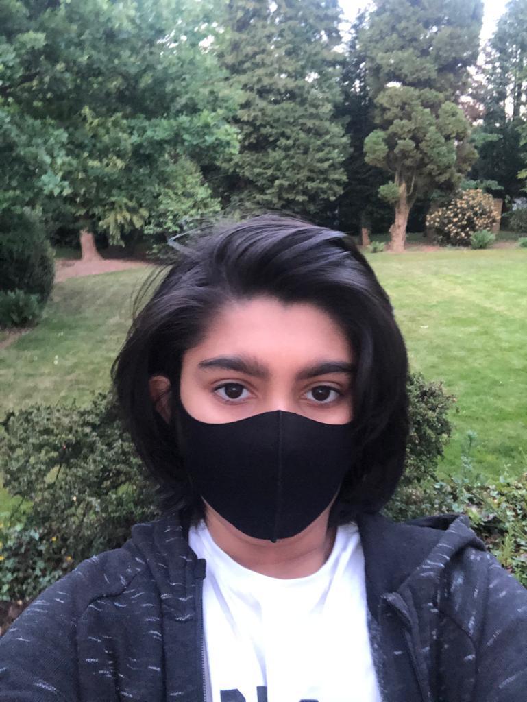 Black Kids Mask