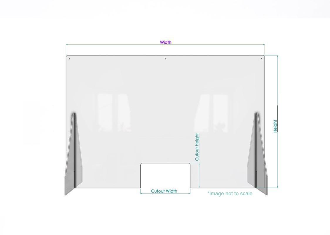 Acrylic safety screen