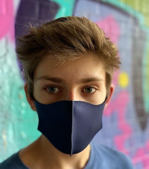 Navy mask kids